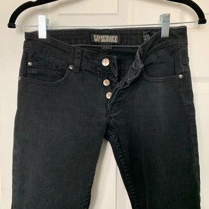 Lip Service Size 28 Stretch Button Fly Jeans